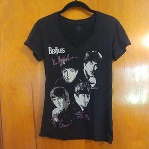 Beatles V-neck T-shirt